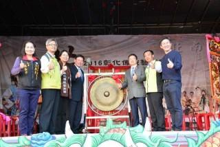 彰化傳統藝術節開幕-啟動儀式。(圖/記者鄧富珍攝)