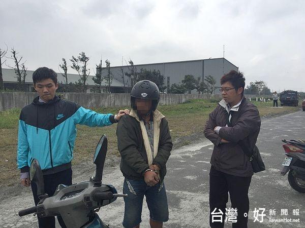 男騎重機車牌與車型不符 機靈警追查偵破竊盜及毒品案