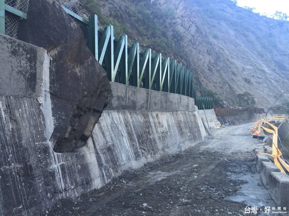 郡大林道趕辦改善工程 預計明年1月中旬完成驗收