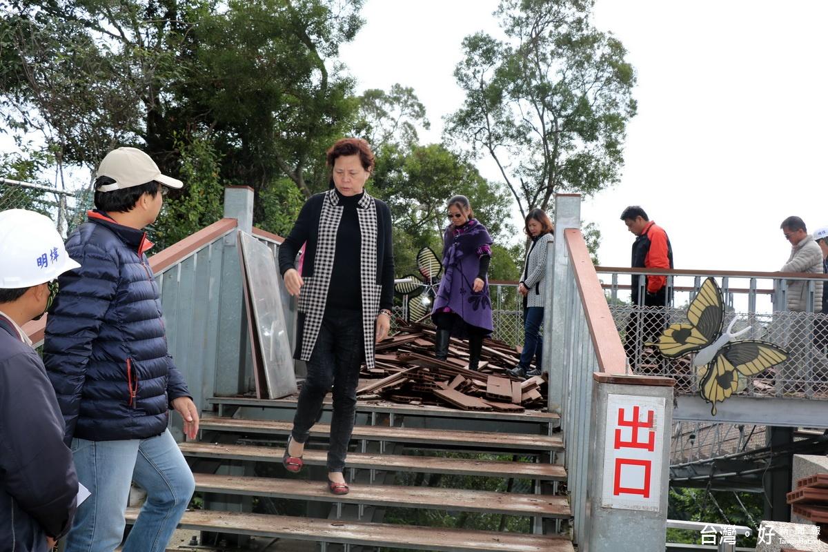 南投天空之橋景觀整修 預計1/16重新開園