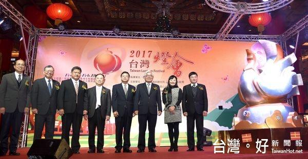 2017台灣燈會迎主燈 「鳳凰來儀」亮相