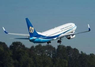 交通部民航局在1月3日下午6時,開放第二波離島春節加班機訂位。(圖/華信航空Facebook)