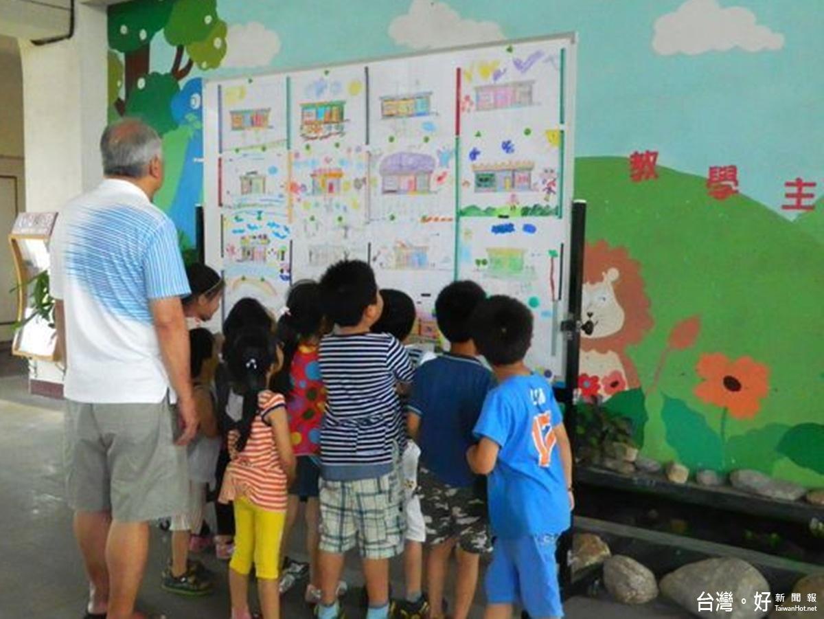 花蓮市幼主題教學成果展 學童巧扮動物逗樂家長