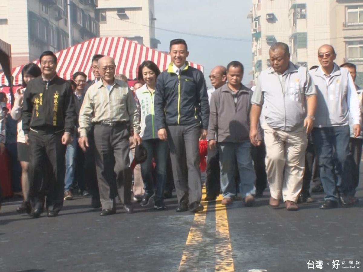 提升地方救災機能 竹市成功路65巷打通