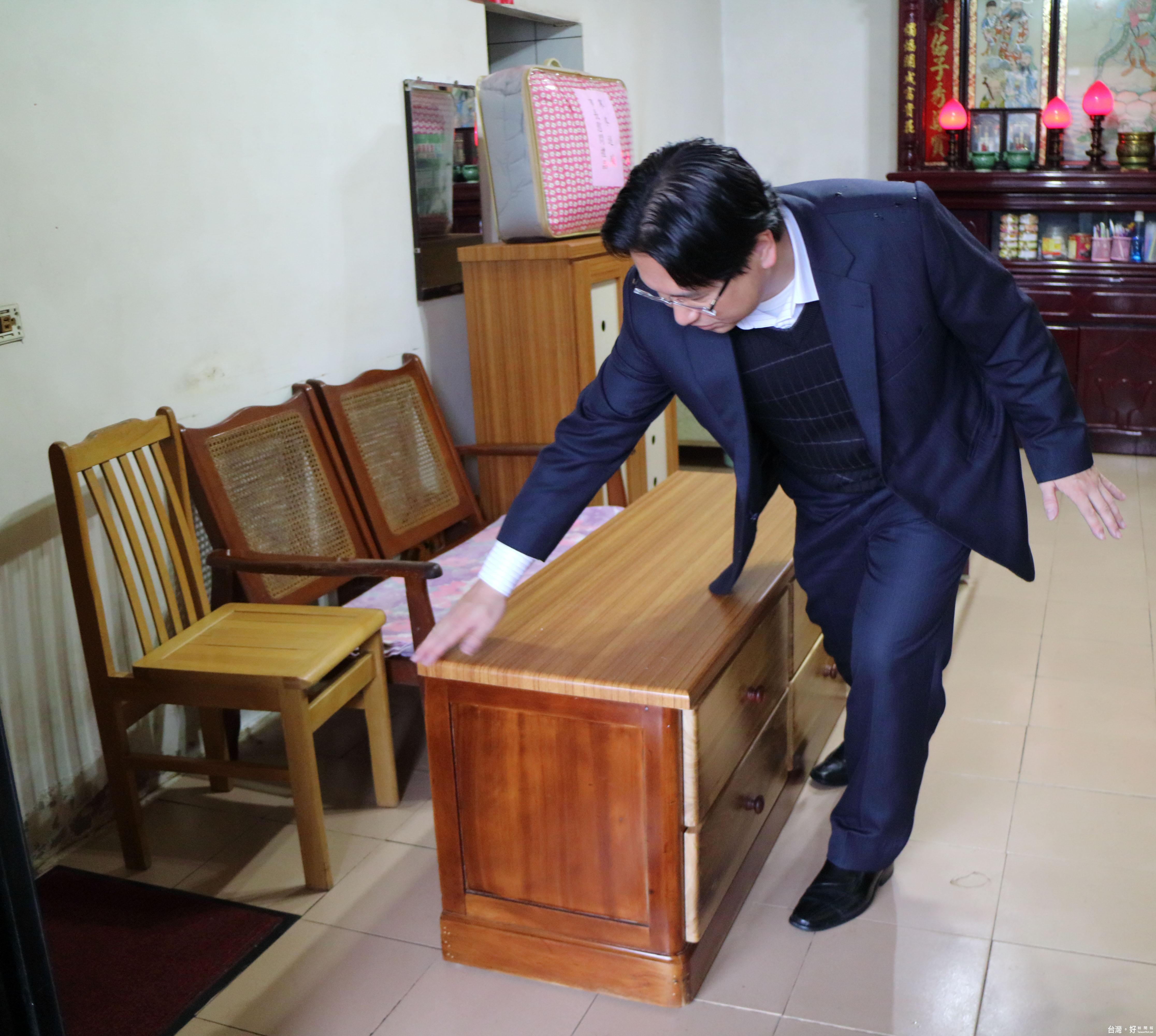 換家具過好年 基市府贈低收入戶再生家具