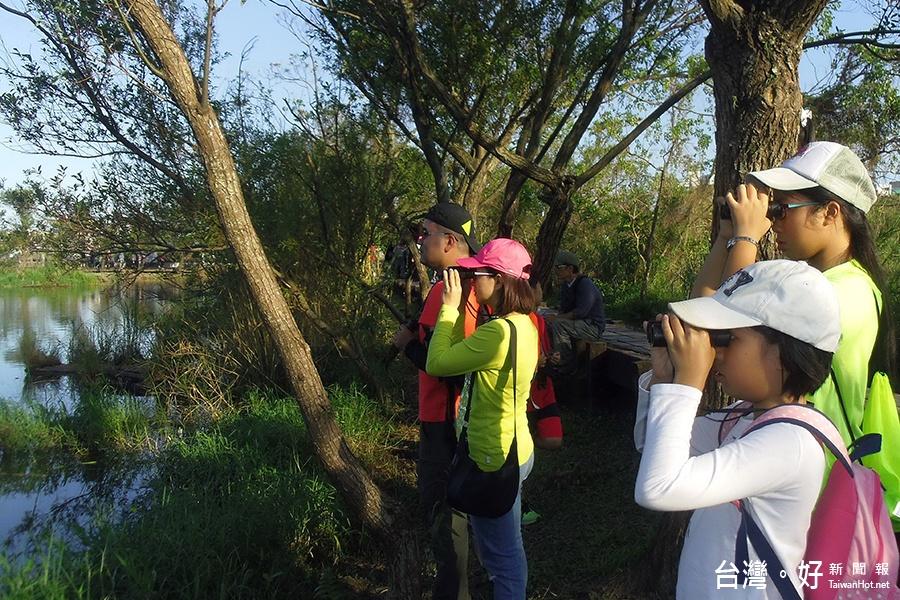 貯木池變棲地 羅東自然教育中心邀您賞鳥趣