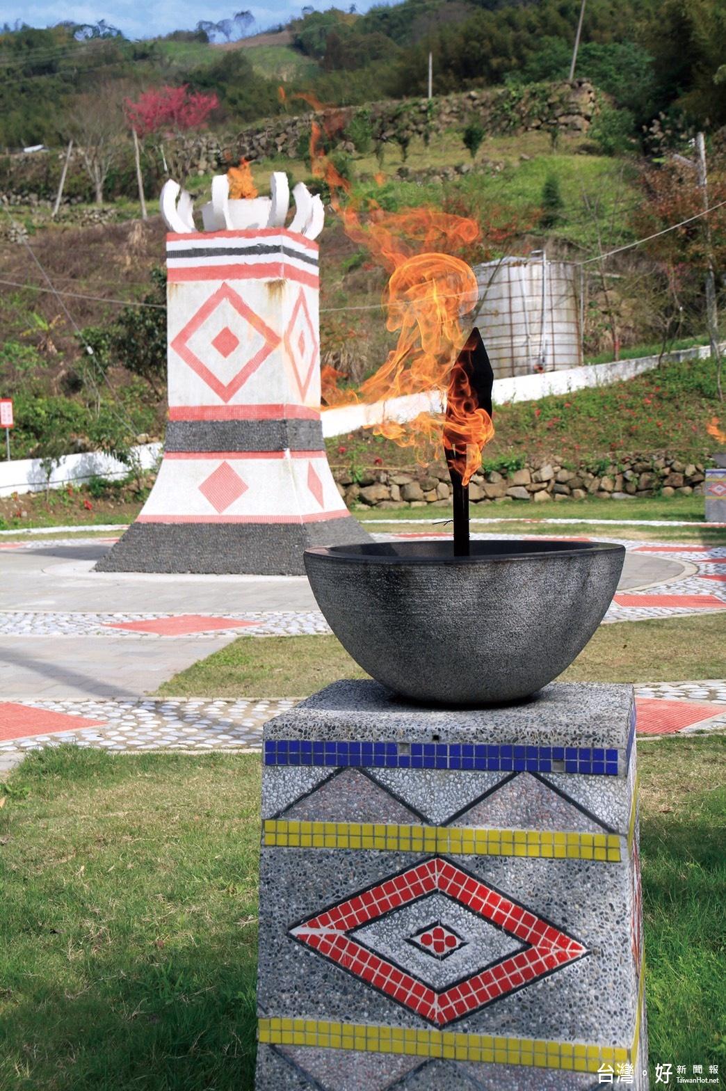 融入當地原民特色 泰安鄉出火社區改善工程獲評佳作