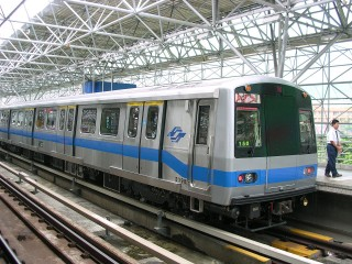 台北捷運(圖/Wikipedia)