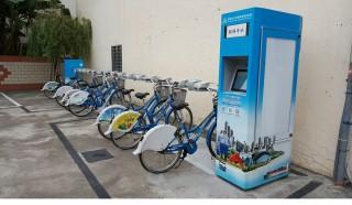▲高雄市政府環保局預計於農曆年前突破200座C-bike租賃站(圖/記者潘姿瑛攝)