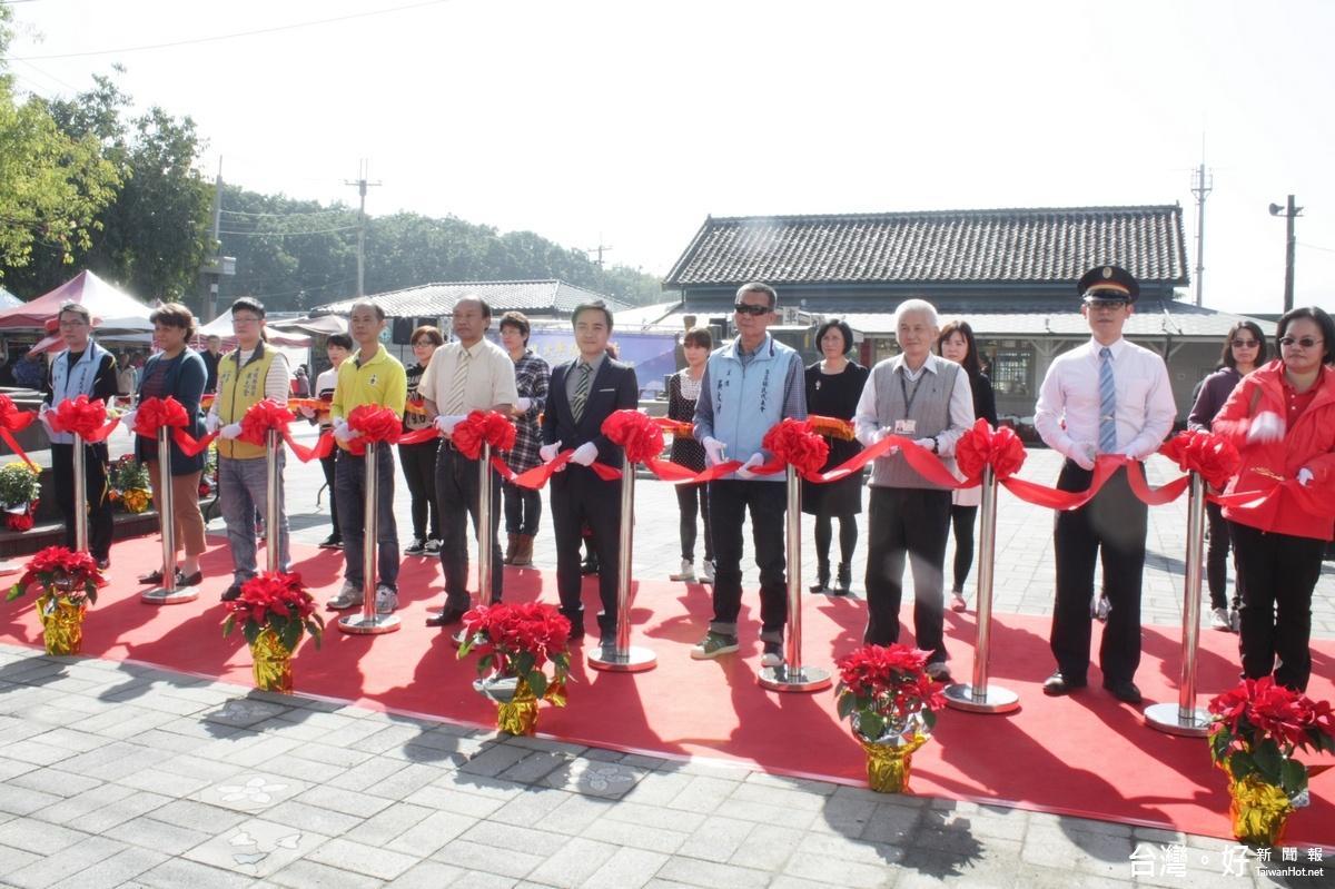 集集火車站換新妝 遊客服務、觀光價值再升級