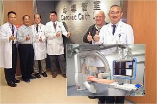 羅東聖母醫院全新心導管室及新購主機啟用。(圖/羅東聖母醫院提供)