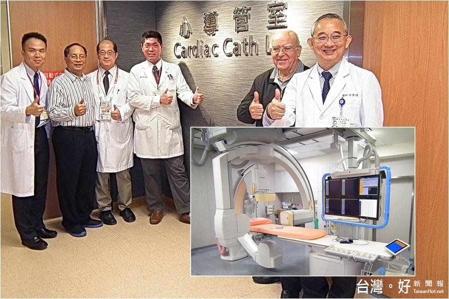 心導管室新機啟用 聖母醫院增添生力軍