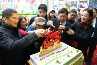 桃園市政府客家事務局,舉辦「臺灣文學之母-鍾肇政93歲慶生會」。