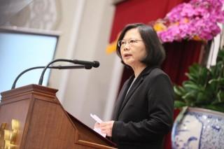 總統蔡英文今日在臉書PO文表示,在世大運期間,台灣只有一種聲音,就是台灣加油,2300萬人都是台灣隊。(圖/資料照片)