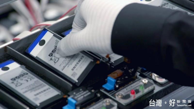三星發表正式調查報告,表示造成多起Note 7自燃的原因,就是電池惹的禍。(圖/Samsung)