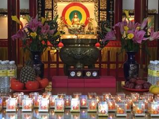 關西慈航禪寺是一座供奉 觀世音菩薩為主的禪宗佛教寺廟。(記者賴淑禎攝)