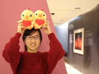 「十三行萌雞祥如意」系列活動,讓民眾有玩又有拿歡喜迎新春。(圖/記者黃村杉攝)