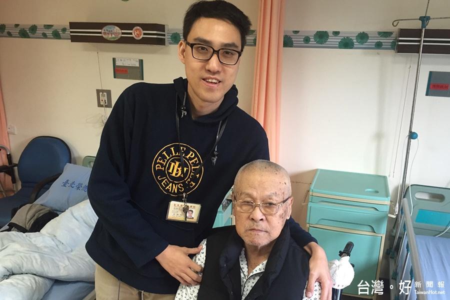 醫院細心照顧榮民 家屬跨國傳謝意