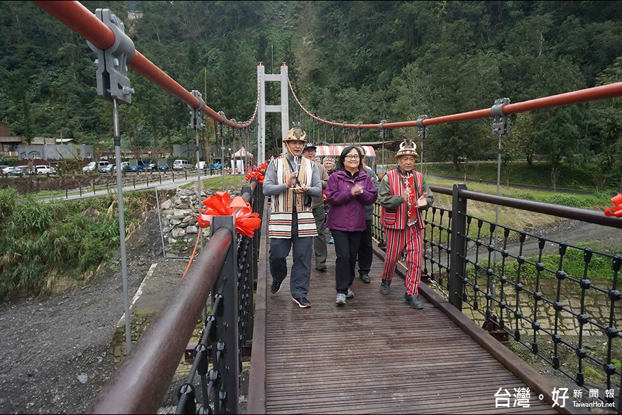 多望吊橋啟用 太平山遊樂區添遊趣