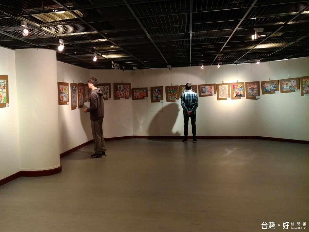 網羅大小朋友創作 白絲帶文創展亮相台東藝文中心