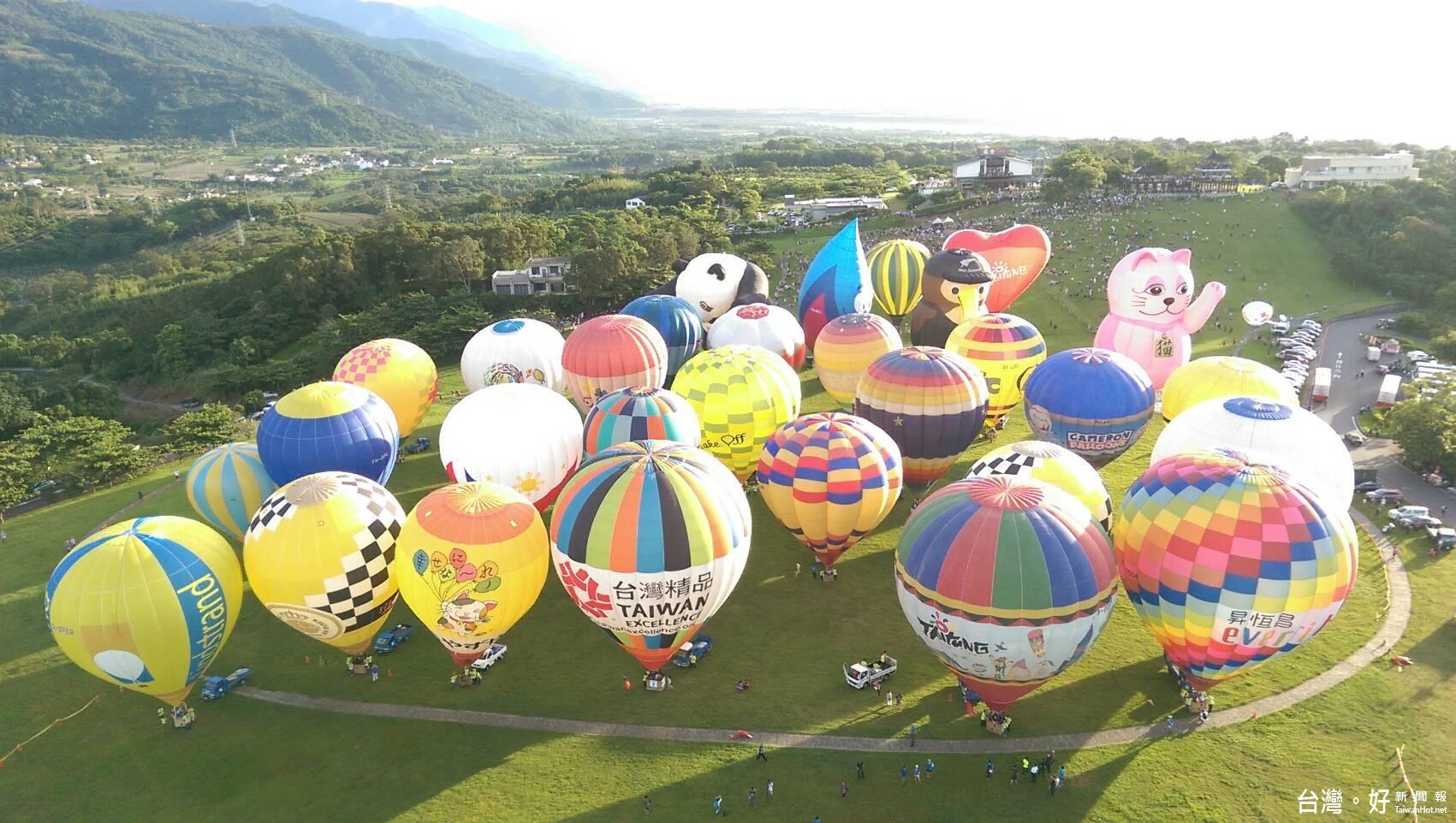 2017熱氣球嘉年華6/30展開 要帶來更多層次的驚喜