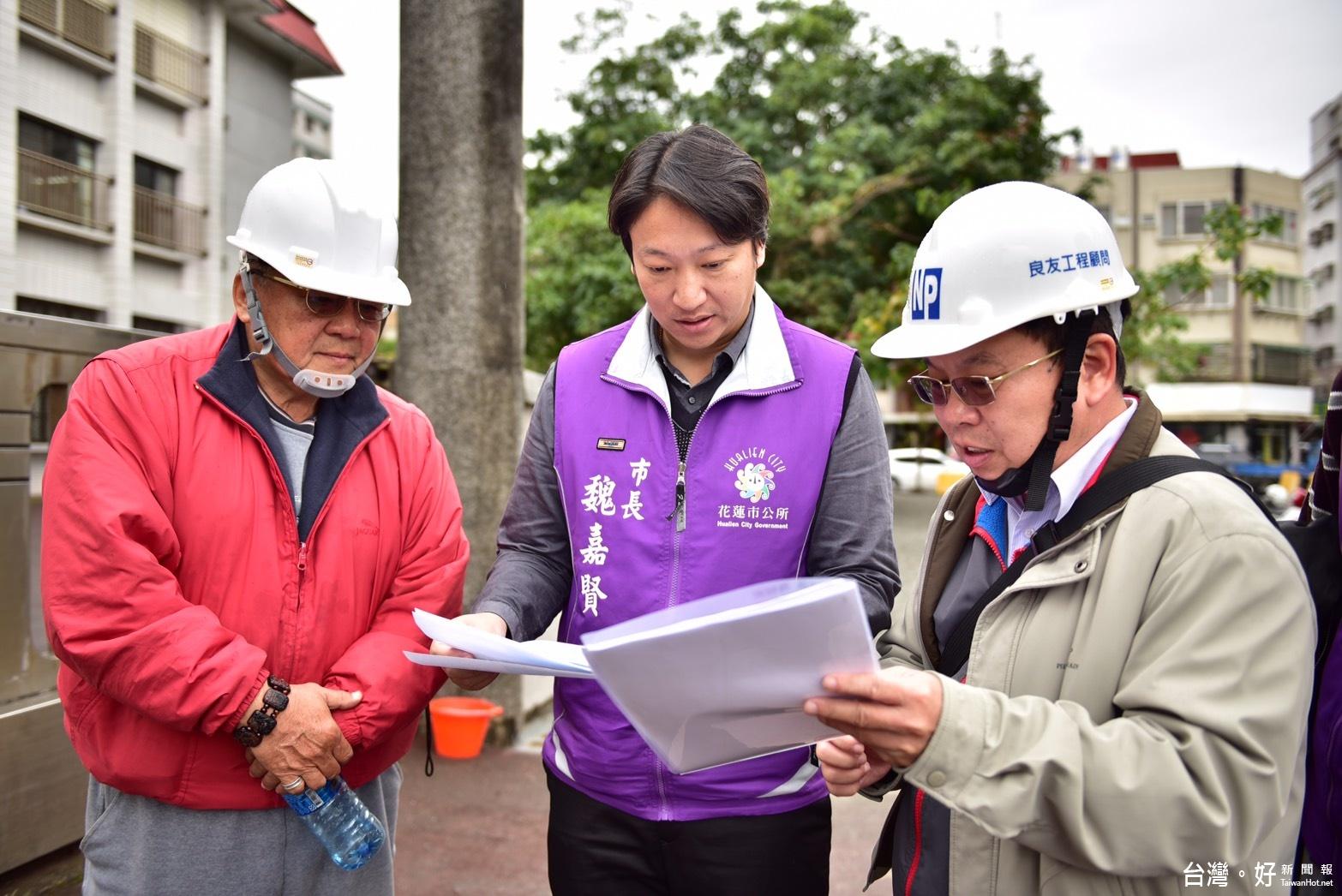 中華國小周邊通學步道改善 創新生態工法讓排水更順暢
