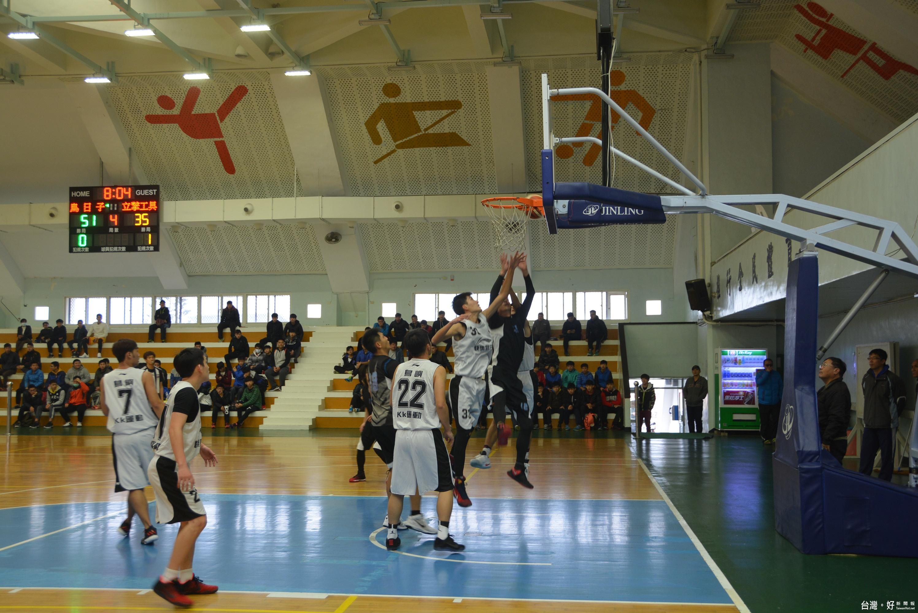 澎縣首長盃籃球錦標賽開打 76支隊伍齊聚較勁