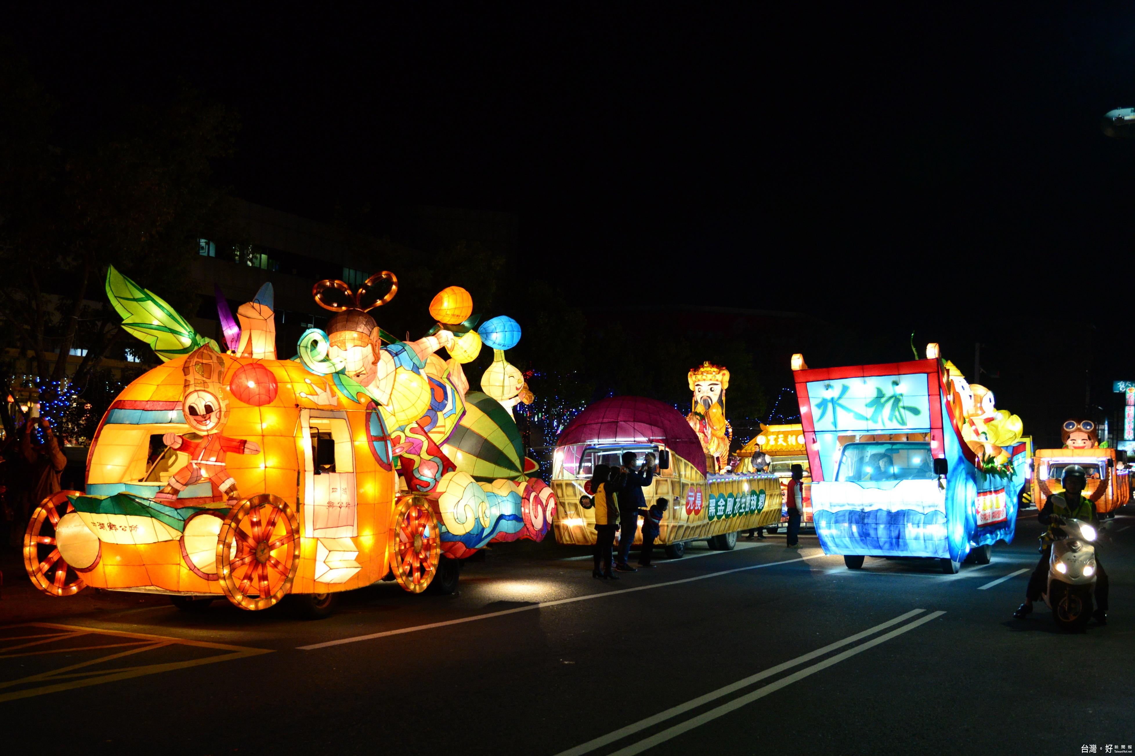 台灣燈會在雲林 台鐵、高鐵加班疏運