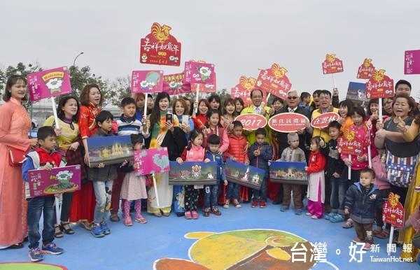 2017台灣燈會 首創新住民主題燈區