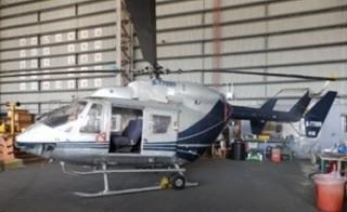 由行政執行署舉辦的本年度第2次全國聯合拍賣日中,出現稀奇的直升機法拍物件,而這直升機的原所有者即是已停業的中興航空。(圖/法務部行政執行署台北分署)