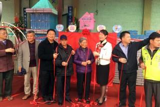 老來寶健康促進家園頭城鎮大坑罟站成立了。(圖/宜蘭縣政府衛生局提供)