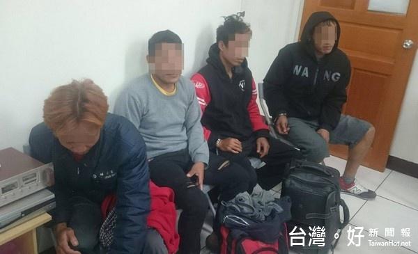 聘雇非法外勞雞舍打工 北港警逮4逃逸外勞