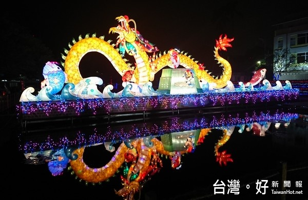 台灣燈會北港燈區揭幕 3大主軸盡顯原鄉風華