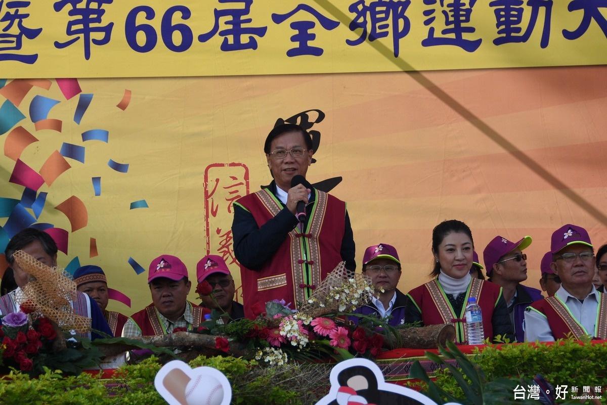信義鄉傳統技能運動會 14村千位村民參與