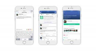 Facebook在「平安通報站」機制中新增「社群援助」(Community Help)功能,讓災變地民眾能快速找到庇護所、安置據點,接受援助。(圖/facebook)