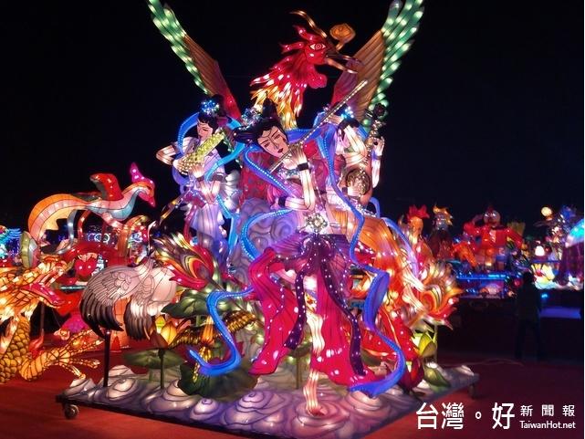 2017台灣燈會/台灣燈會雙燈王 都出自收容人的巧手