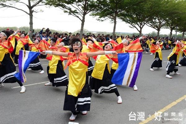 台灣燈會開幕踩街 虎尾燈區熱力四射