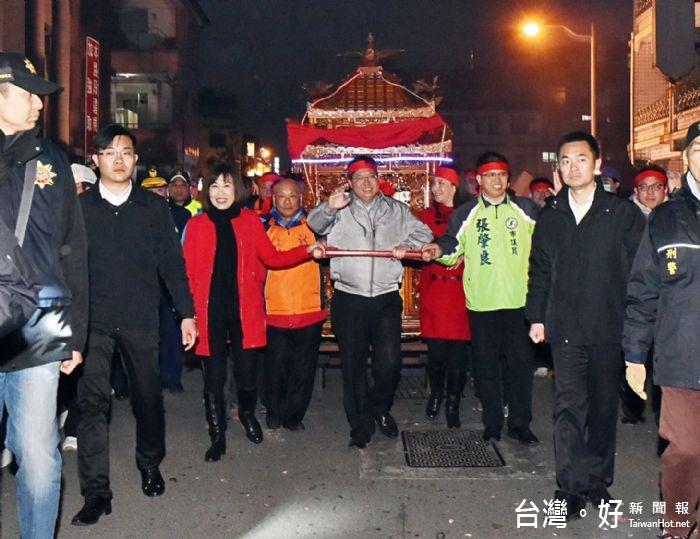 龍潭迎財神步行遶境 再現百年傳統