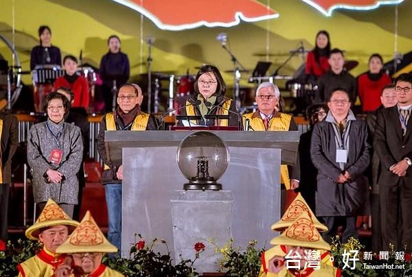 2017台灣燈會/「鳳凰來儀」萬燈齊亮 近2百萬人齊賞燈