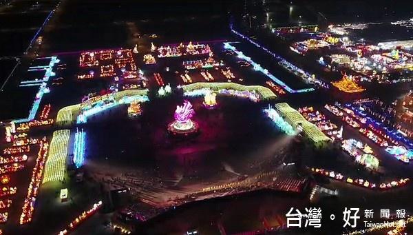 2017台灣燈會/總統啟燈空拍機闖入遭擊落? 警局:自行摔落