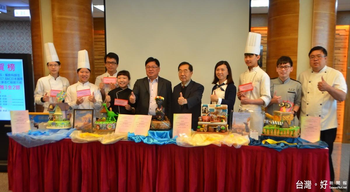 「瓦力機器人」做成蛋糕 台灣創意料理吸引評審目光