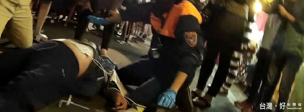 與死神搶人 CPR+AED即時救回53歲大叔