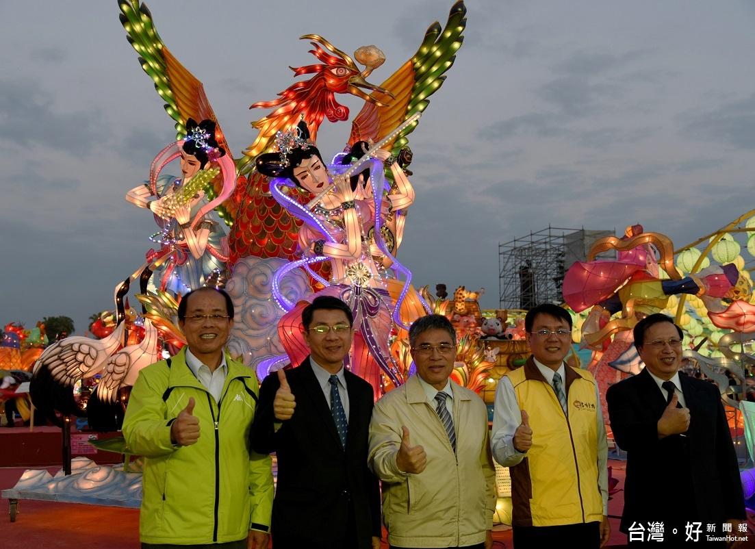 2017台灣燈會/「燈王」浴火重生 再度點燈回到燈區