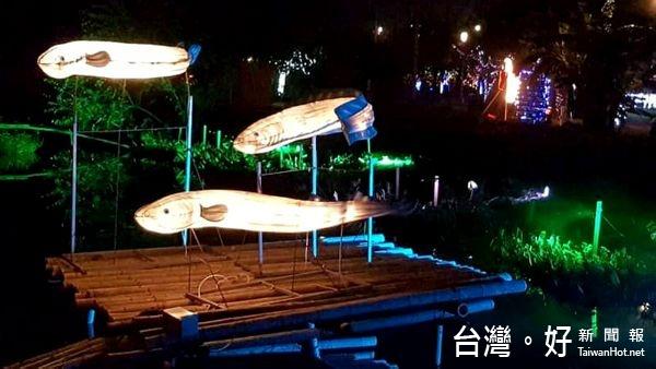 延續台灣燈會精神價值 海口風情花燈口湖展出