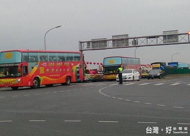 228連續假期 北港警實施交通疏導管制