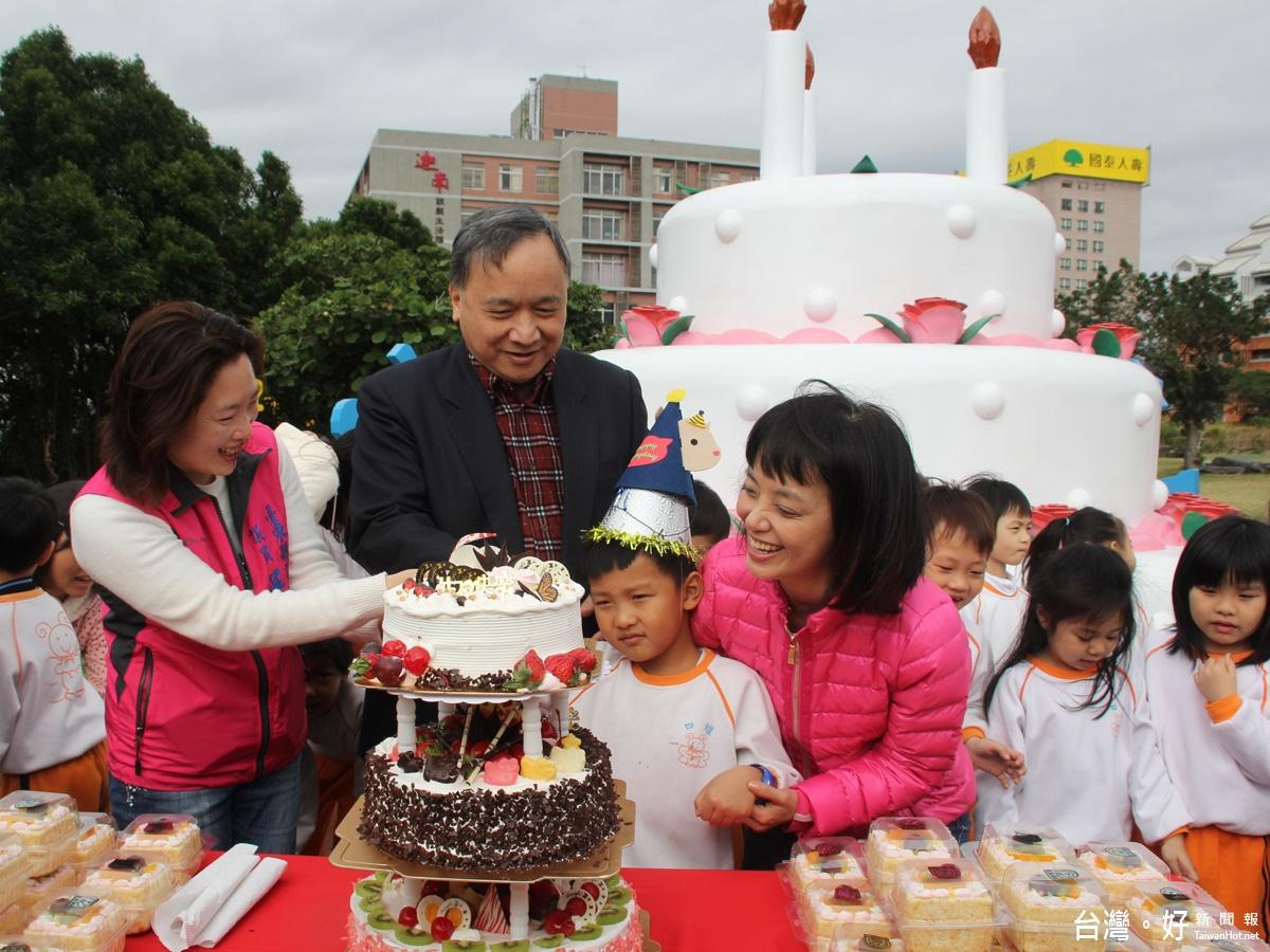 主打生日慶生主題 台東美術館兒童公園遊戲器材新建啟用