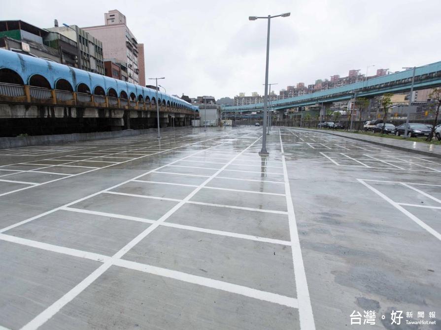 基隆火車站南站停車場 3/6起5天免費停車 3/11正式啟用