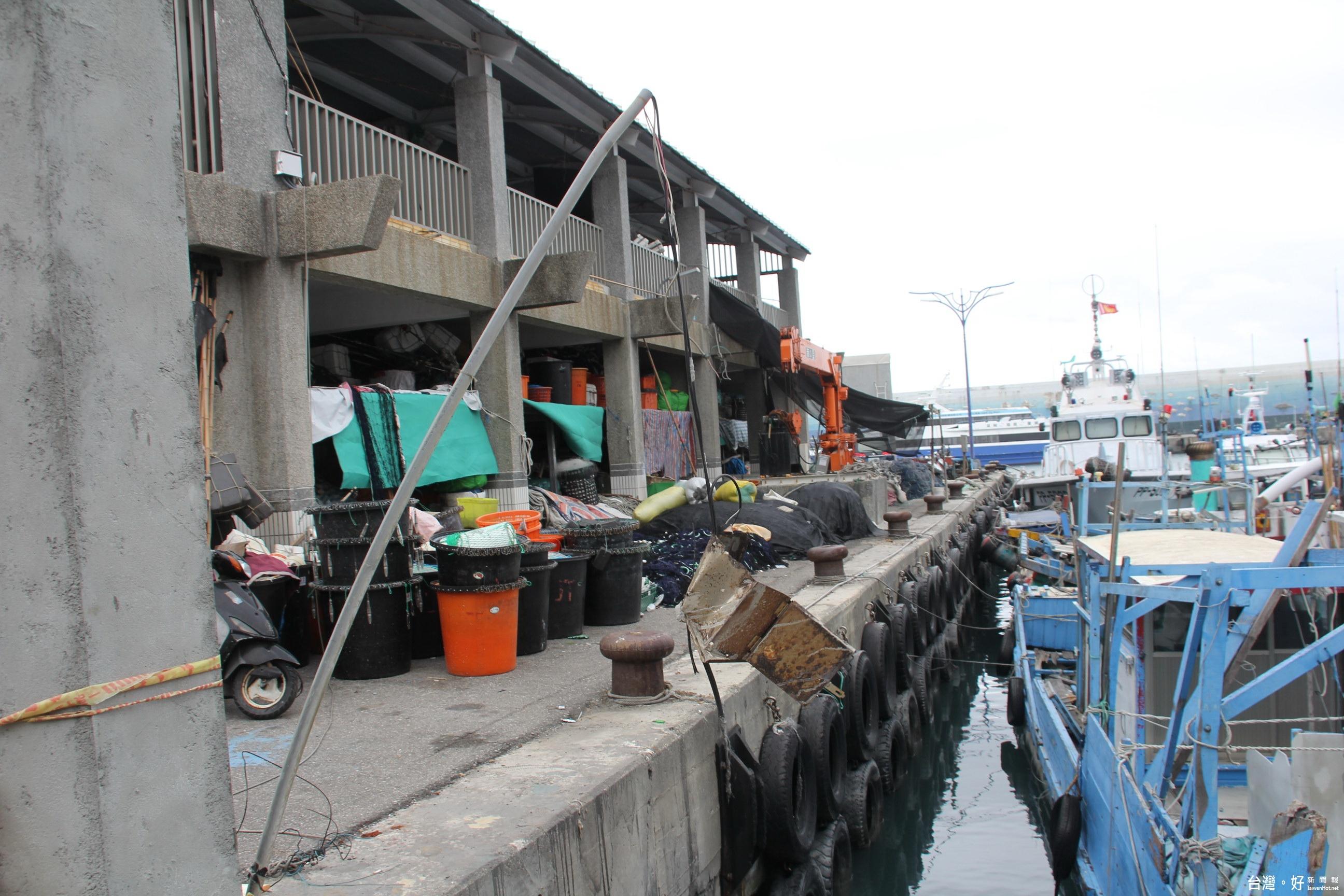 蘭嶼、綠島交通樞紐 黃建庭盼富岡轉型觀光漁港