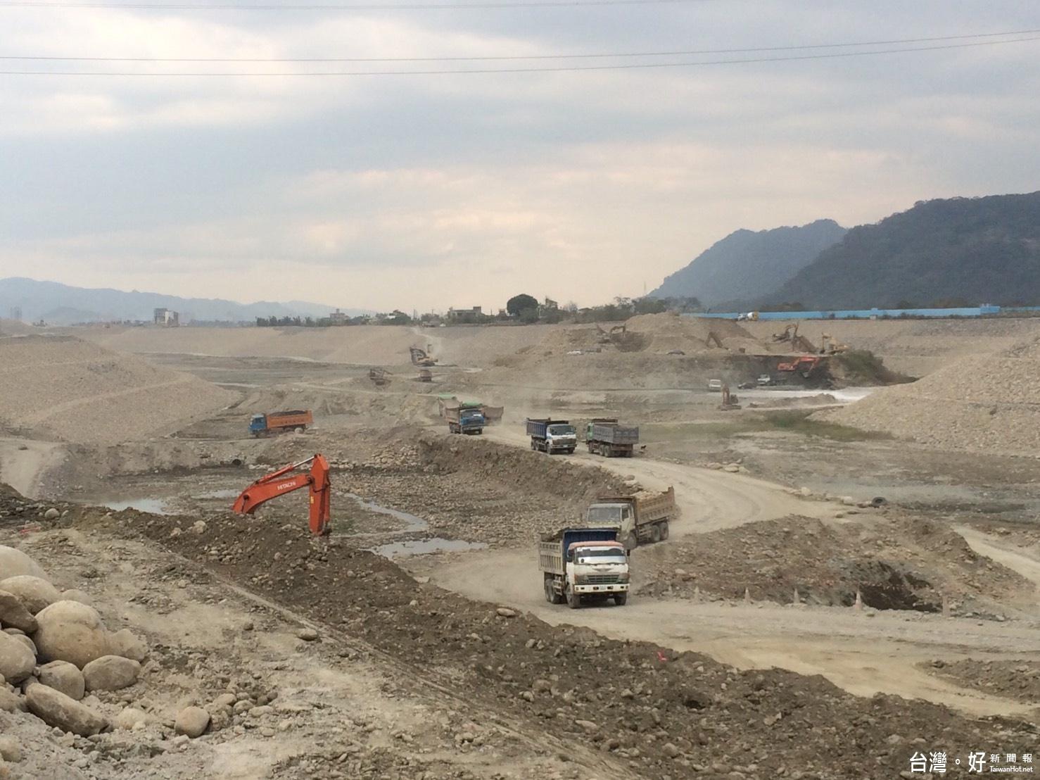 大溪中庄調整池全力趕工 日後將可解決缺水問題