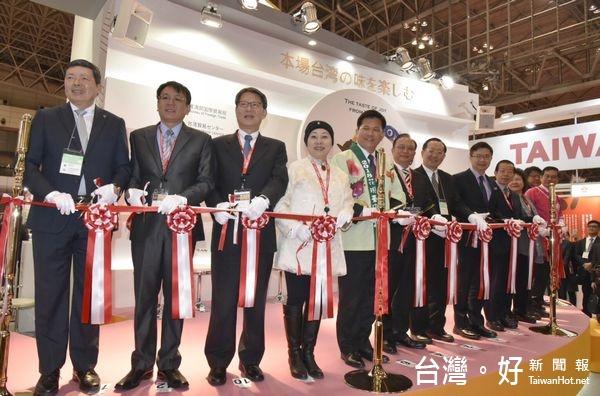 東京國際食品展台灣館開幕 雲林特色農漁產獲好評